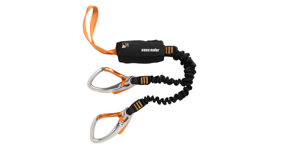 Black Diamond Easy Rider klettersteigset set oranje/zwart